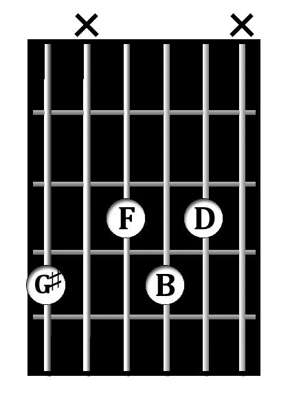 G#<sup>dim</sup> chord diagram
