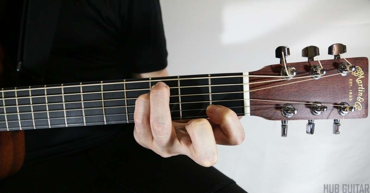Open Chords And Suspended Chords Hub Guitar