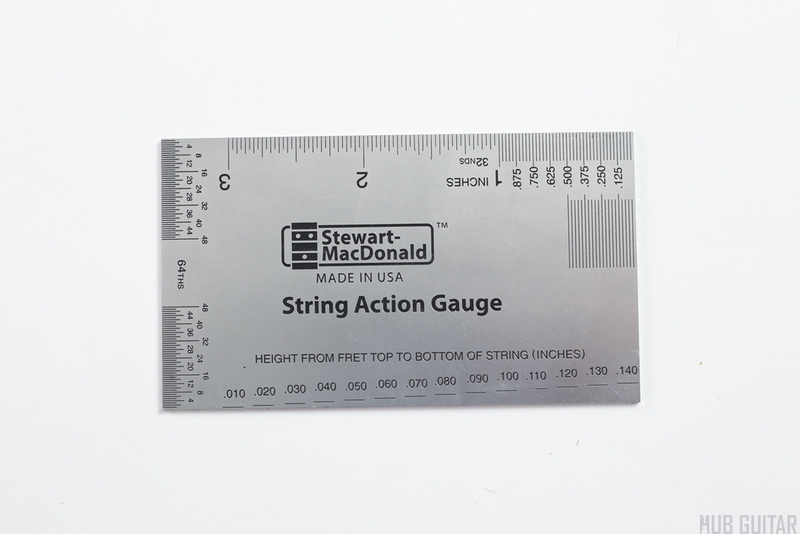 image about String Action Gauge Printable identify Move Gauge (Stew Mac) Hub Guitar