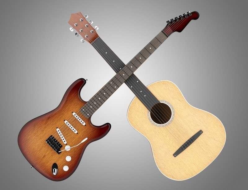 acoustic vs electric guitar a beginner 39 s guide hub guitar. Black Bedroom Furniture Sets. Home Design Ideas