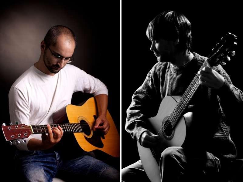 should you play left handed or right handed hub guitar. Black Bedroom Furniture Sets. Home Design Ideas
